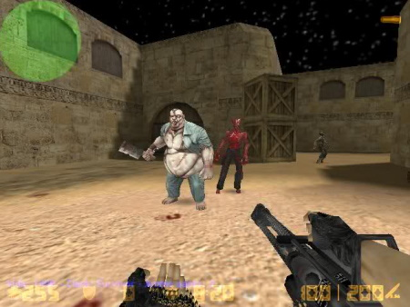 Counter-Strike 1.6 Zombie